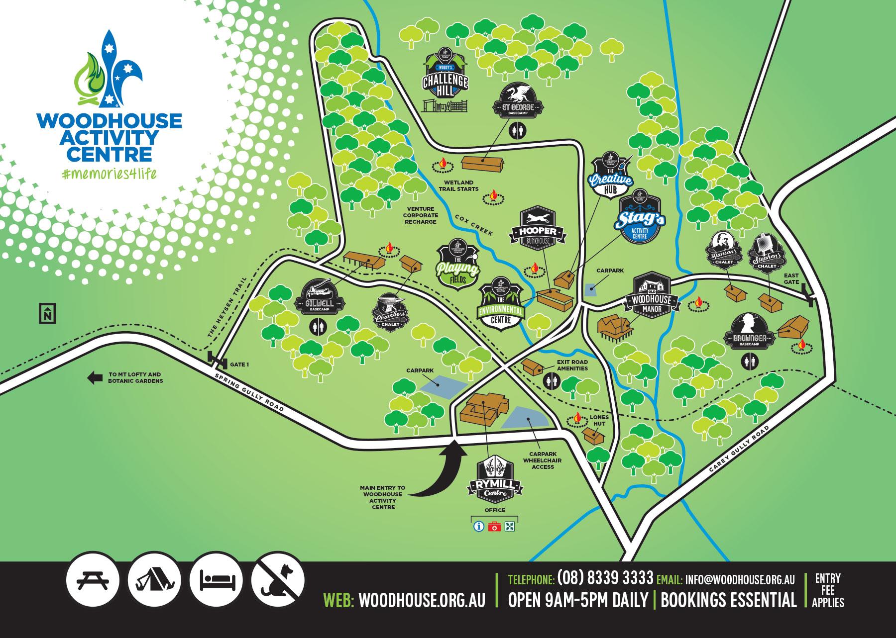 Gilwell Basecamp Accommodation At Woodhouse Adelaide